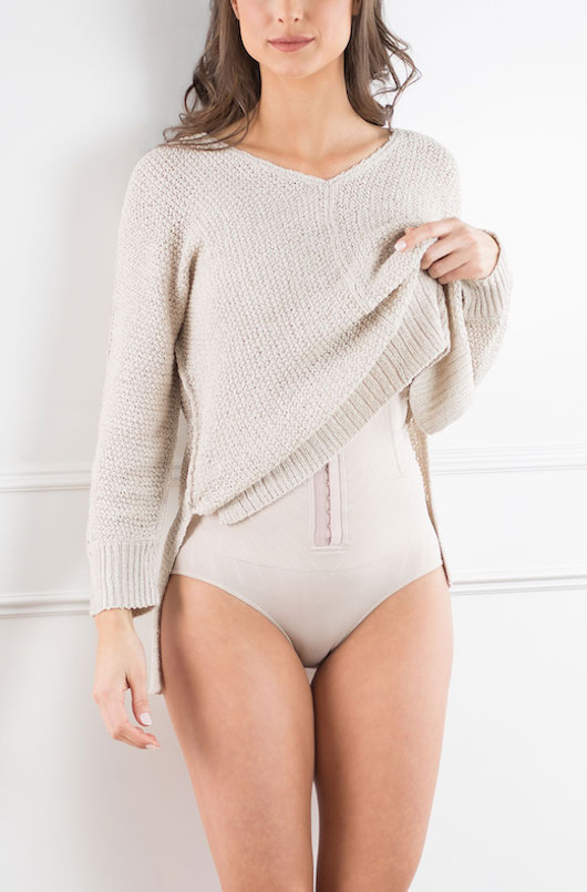 Culotte haute gainante post cesarienne C-section