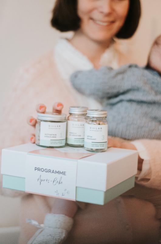 Programme après bébé compléments alimentaires