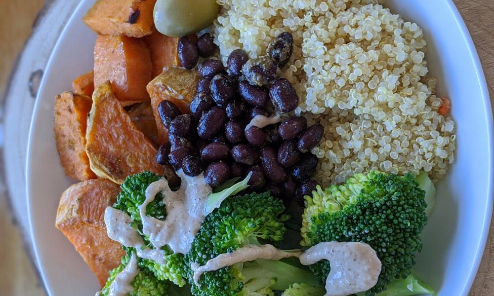 Exemple d'assiette nutritive perte poids grossesse Laila